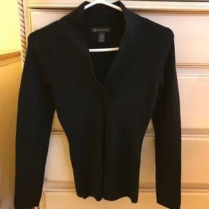 Silk Blend V-neck Sweater